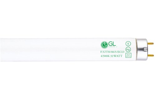 Goodlite G-20233 F32T8/865/ECO Straight 32 Watt 48-Inch Inch 800 Series T8 Fluorescent Tube Light Bulb, 30 Pack by Goodlite (Image #1)