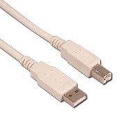 MyCableShop USB2, 0 A B 1,8 m Cable para impresoras ...