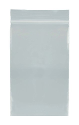 "SE ZB23 Self-Locking Bags, 2"" x 3"" (Pack of 100)"
