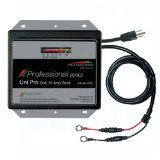 Dual Pro Professional Charger with 12V Output, Black/Platinum by Dual Electronics