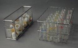 好評 保育学校用品 乳首、キャップステンレスカゴ (画像左) B01CE1W000 熱風保管庫用食器器具カゴ B01CE1W000, キカイチョウ:17b235ed --- arianechie.dominiotemporario.com