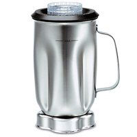 Waring Commercial CAC35 Complete Stainless Steel Container with Blade and Lid, 32-Ounce by Waring