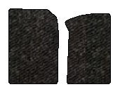 Hummer H2 Berber Floor Mats 2 Pc Fronts - Sport Utility - Black (2003 03 2004 04 2005 05 2006 06 2007 07 ) AMSGTHA9005G57X