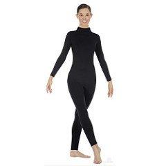 3adddb4354b49c Amazon.com: Eurotard 44132 Adult Mock Neck Long Sleeve Unitard: Clothing
