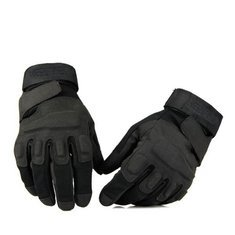 80s Male Icons Costume (Walid-Gloves Motorcycle Tactical Airsoft Protective Outdoor Blackhawk Hell Storm ( XL ))
