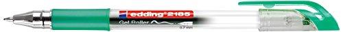 edding Gelroller edding 2185,  metallgefasste Rollerspitze,  0,7 mm, grün
