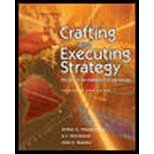 Crafting and Executing Strategy: the Quest for Competitive Advantage, Thompson and Gamble, 0072884444
