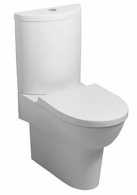 Großartig Keramag Flow Stand-WC weiß KeraTect; Tiefspül-WC, für aufgesetzten  NA88