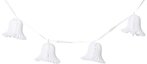 Tissue Bell Streamer (white) Party Accessory  (1 count) -