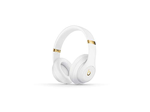 Beats Studio3 Wireless Noise Canceling Over-Ear Headphones - White (Gold Beats Wireless)