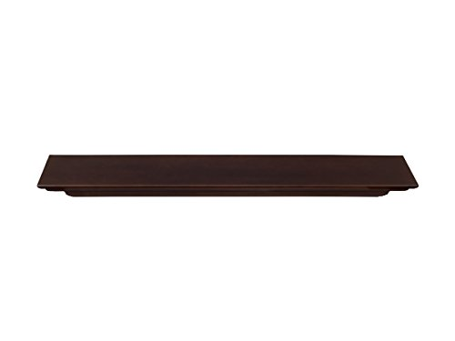 Pearl Mantels 618-60BRN Crestwood Mantel Shelf, 60-Inch, Chocolate Brown - Mantel Pearl