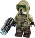 LEGO Star Wars LOOSE Minifigure Kashyyyk 41st Elite Corps Trooper with Firing Blaster (Star Wars 41st Elite Corps Clone Trooper)