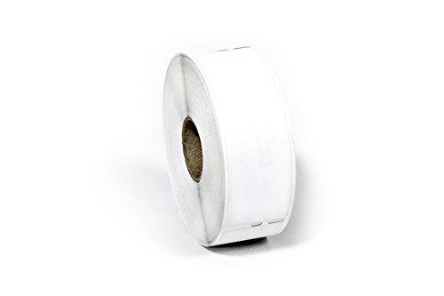 BTL-30252REM-10pk Size 1.125''x3.5'' White Dymo 30252 Removable Labels - 10 Rolls per Pack - Bay Tech Label