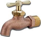 Matco-Norca FY-692 HOSE BIBB- ROUGH BRASS, PLAIN END, MIP INLET by Matco-Norca