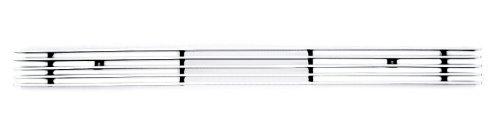 (TRex Grilles 25112 Horizontal Aluminum Polished Finish Billet Bumper Grille Bolt-on for Chevrolet Silverado 1500)
