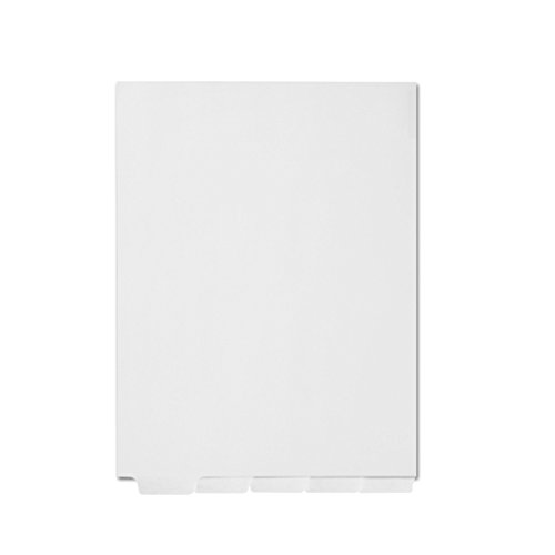 AMZfiling Blank Bottom Tab Index Dividers, Compatible with Avery- 5 Tabs, Letter Size, White (25 Sheets/Pkg)