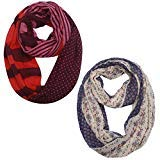 USAstyle Premium Bamboo Infinity Scarf With Pocket – Fantastic Soft, Stretchy Jersey
