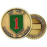 (U.S. Army 1st Infantry Division Challenge Coin )