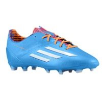 adidas F50 Adizero TRX FG - (Solar Blue/Running White/Solar Zest) (6y)