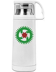 House Of Growth Seicho-no-Ie Cool Thermos Vacuum Insulated Stainless Steel Bottle (Personalized Lego Water Bottle)