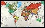 World Tyvek  Political Map