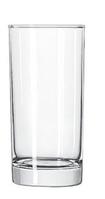 Highball Base Glass - Libbey 161 Heavy Base 10.25 Ounce Hi-Ball Glass - 48 / CS