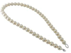 CB-Creation Perlenkette beige, ca 45 cm m.Öse f. Anhängerring