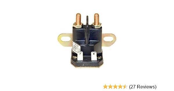 diagram database on amazon com : starter solenoid for john deere l120,  l110, z425,