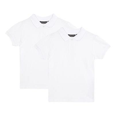 NEW Kids Childrens Boys Girls Plain T Shirt 100/% Cotton 4-16 White Black Colours