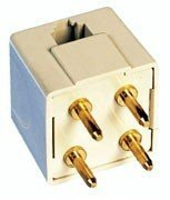 Adapter Ivory (AT&T 16524 Portable 4 Prong Adaptor - Ivory)
