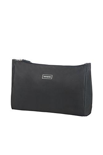 (SAMSONITE Karissa Cosmetic Cases - Pouch L Toiletry Bag, 33 cm, Black)