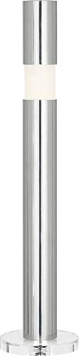 - Robert Abbey Peek Polished Aluminum Buffet Table Lamp