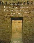 Introduction to Psychology, Kalat, James W. and Maki, Ruth H., 0534250203