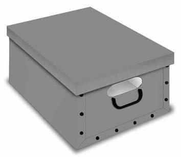 Boite De Rangement Decorative En Carton Avec Fenetre Clip Box Boite