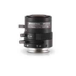 Arecont Vision 1/2.5 inch 3.3-12mm f1.4 Varifocal, Manual-Iris Lens, up to 5-Megapixel, CS-Mount, IR-Corrected, 3yr by Arecont Vision