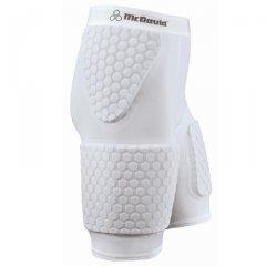 McDavid 7580T Men's Thudd Hexpad Shorts Extended Thigh Texas Orange 2XL [Misc.] (Orange Knee Pads Mcdavid)