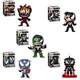 (Funko Pop! Marvel - Venom Series Set of 5: Venomized Eddie Brock, Captain America, Iron Man, Hulk and Cletus Kasady)