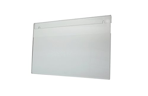 Marketing Holders 13 15/16'' w X 8 3/4'' Ad Frame by Marketing Holders