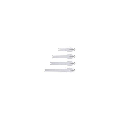 [Alpinestars Unisex-Adult Tech 57 Buckle Strap (White, One size)] (Alpinestars Replacement)