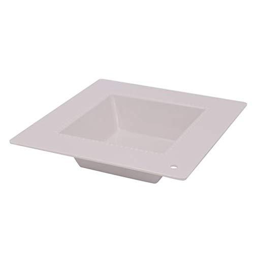 DEI 14262 Melamine Charmers Square Dish, 9-inch square