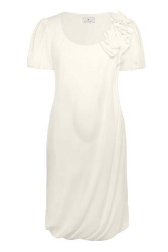 bellybutton - Vestido de novia - Manga Corta - Mujer Off-white - Elfenbein (champagne)