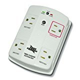 Take Charge Smart Power Strip Energy Saving Surge Protector with One Button 3 Hour Timer 4- Outet - UTC4W