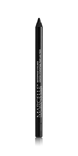 Marcelle Waterproof Eyeliner, Deep Charcoal, Hypoallergenic and Fragrance-Free, 0.04 oz
