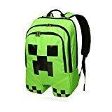 Best Minecraft Bookbags For Boys - Minecraft Creeper Polyester Shoulder Bag Backpack Rucksack Review