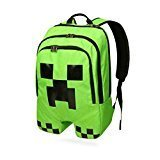 Price comparison product image Minecraft Creeper Polyester Shoulder Bag Backpack Rucksack