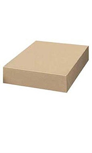 19 x 2 x 3 inch Kraft Apparel Boxes by STORE001