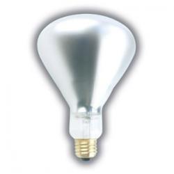 (4 Pack) 375 WATT BR40 Infrared Heat LAMP SHATTERPROOF Light Bulb Clear Glass 5,000 Hours Supra Life Heat LAMP Shatter Resistant