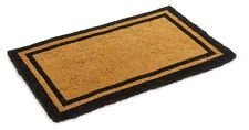 Black Border Coco Coir Doormat - Heavy Duty Doormats - 30' X 48'