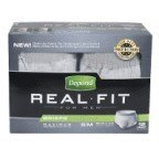 Depend Real Fit Underwear Men Sm/Med 12 Ct, Pack of 8