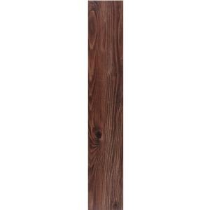 TrafficMaster Allure 6 in. x 36 in. Dark Walnut Resilient Vinyl Plank Flooring (24 sq. ft./case)